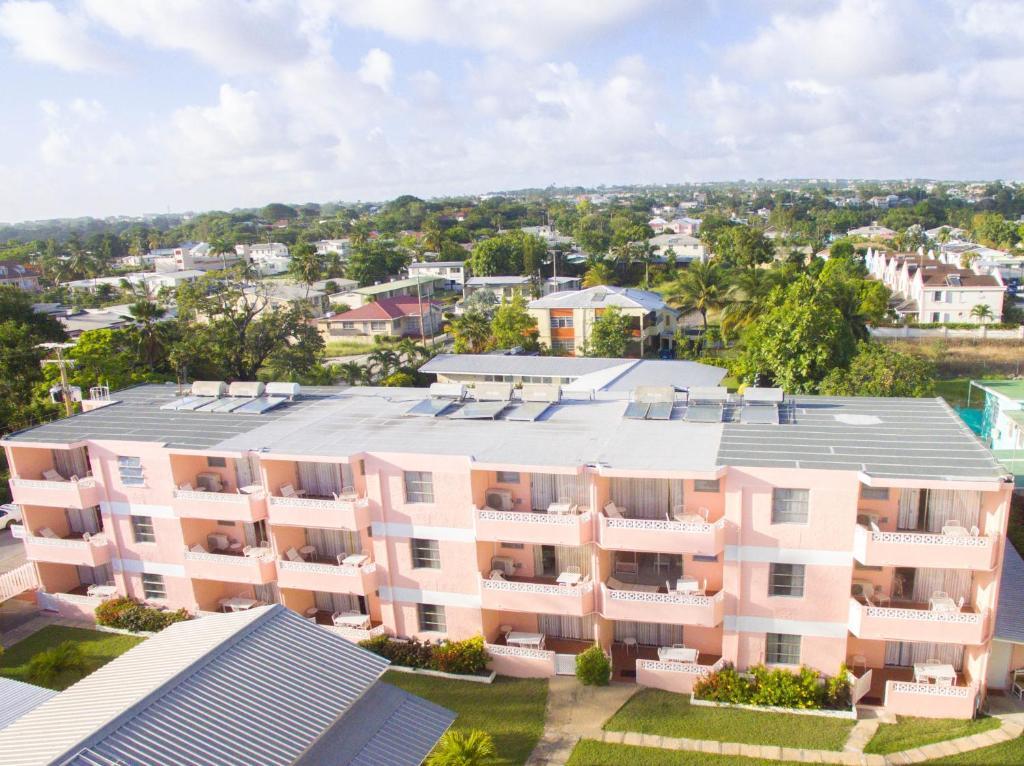 A bird's-eye view of Monteray Apartment Hotel