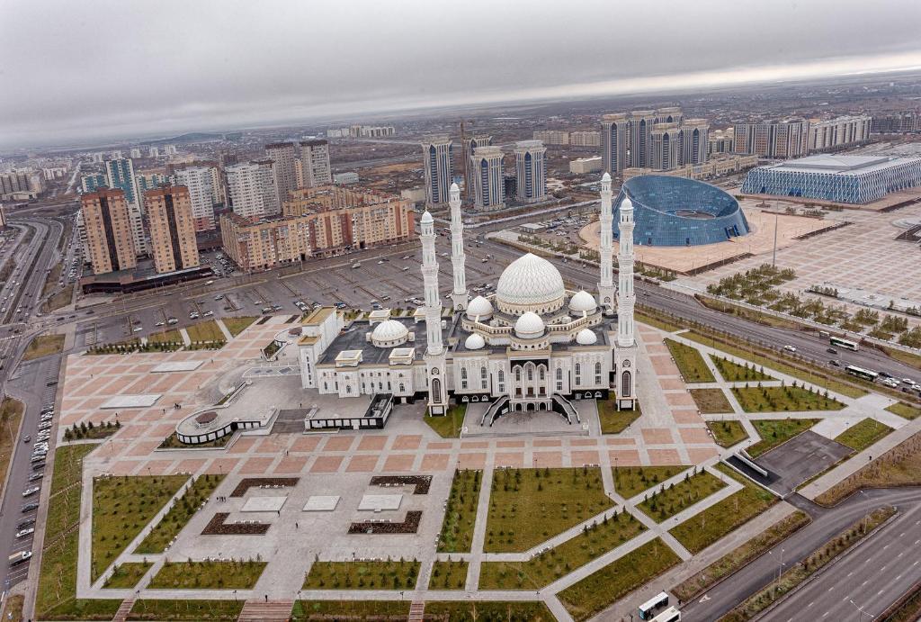 9a283d2c6b947 Pohľad z vtáčej perspektívy na ubytovanie Highvill Astana apartment G 1005