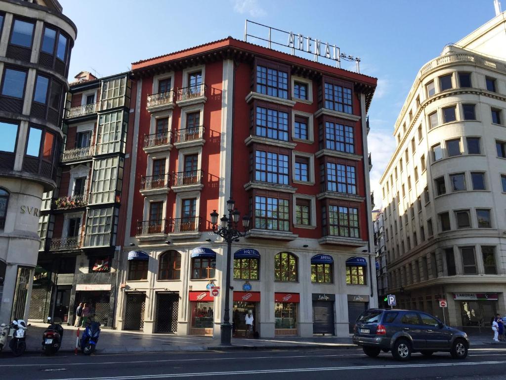 Rooms: Sercotel Arenal Bilbao, Spain