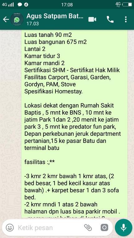 Jalan Oro Oro Ombo Bony Homestay Tlekung Indonesia Booking Com