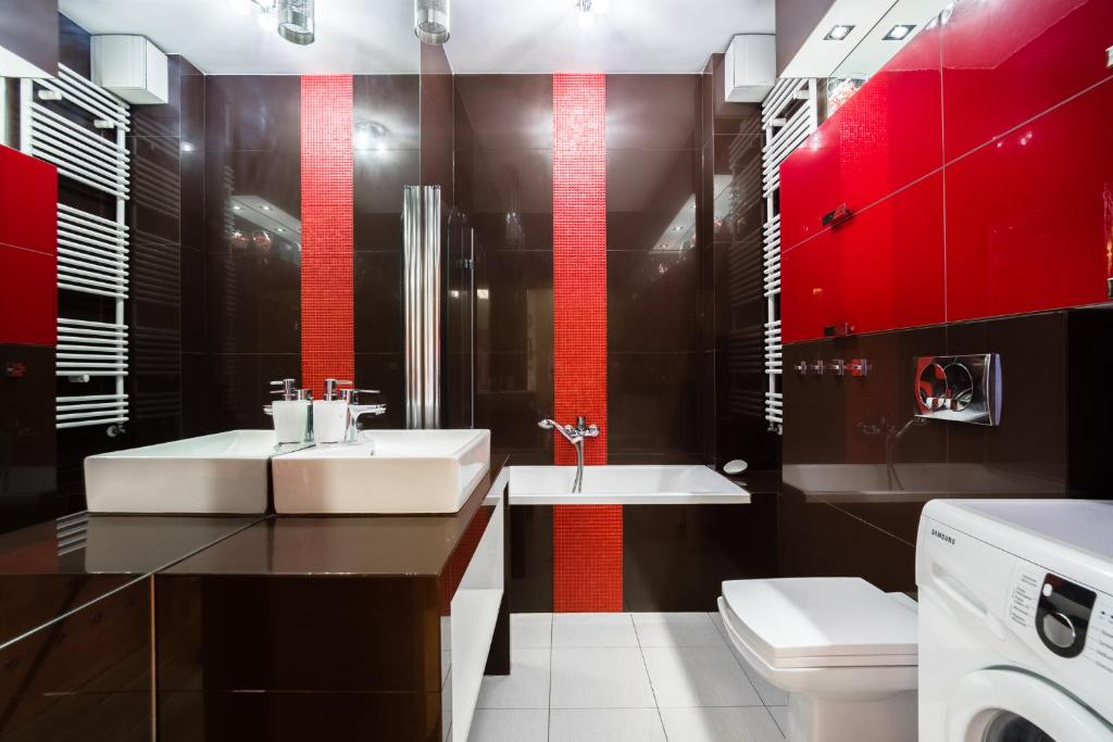 Diamentowy Łabędź łazienka