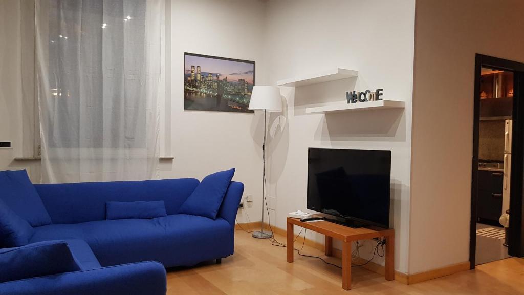 Een TV en/of entertainmentcenter bij 63 Via San Felice
