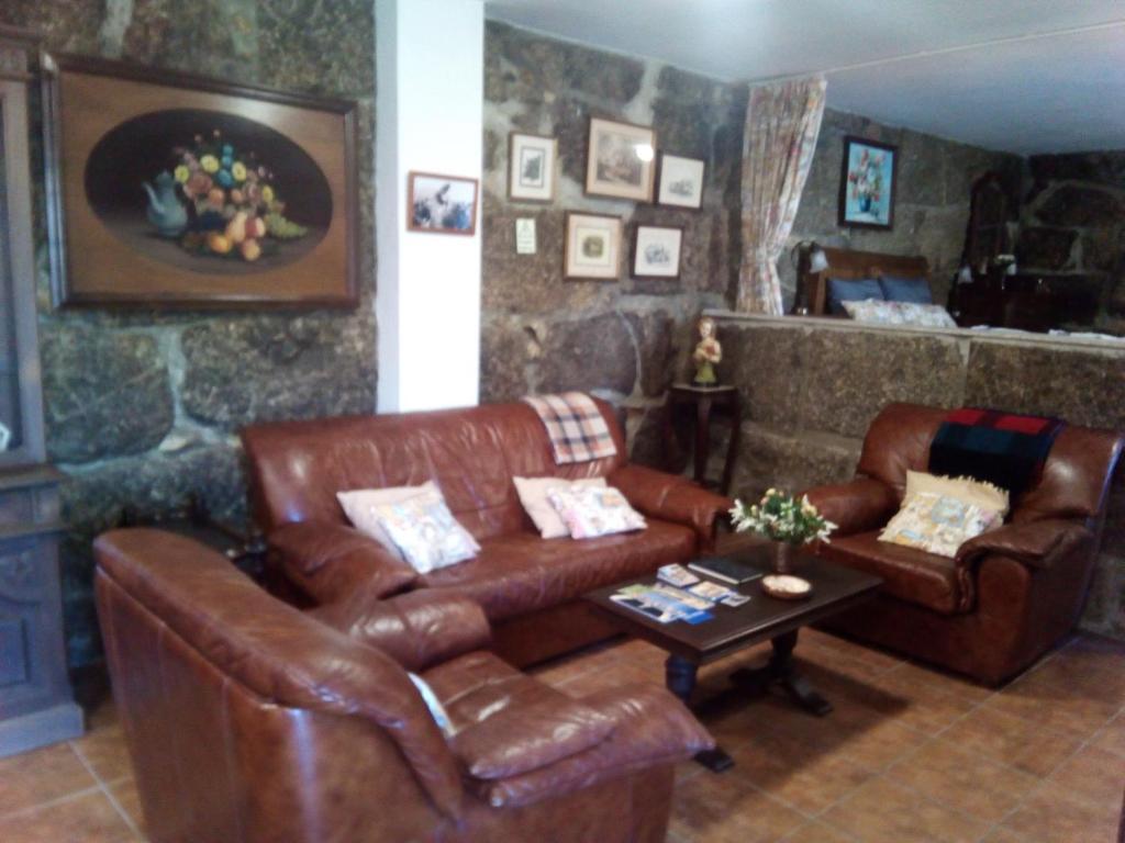 The lobby or reception area at Casa do Lagar