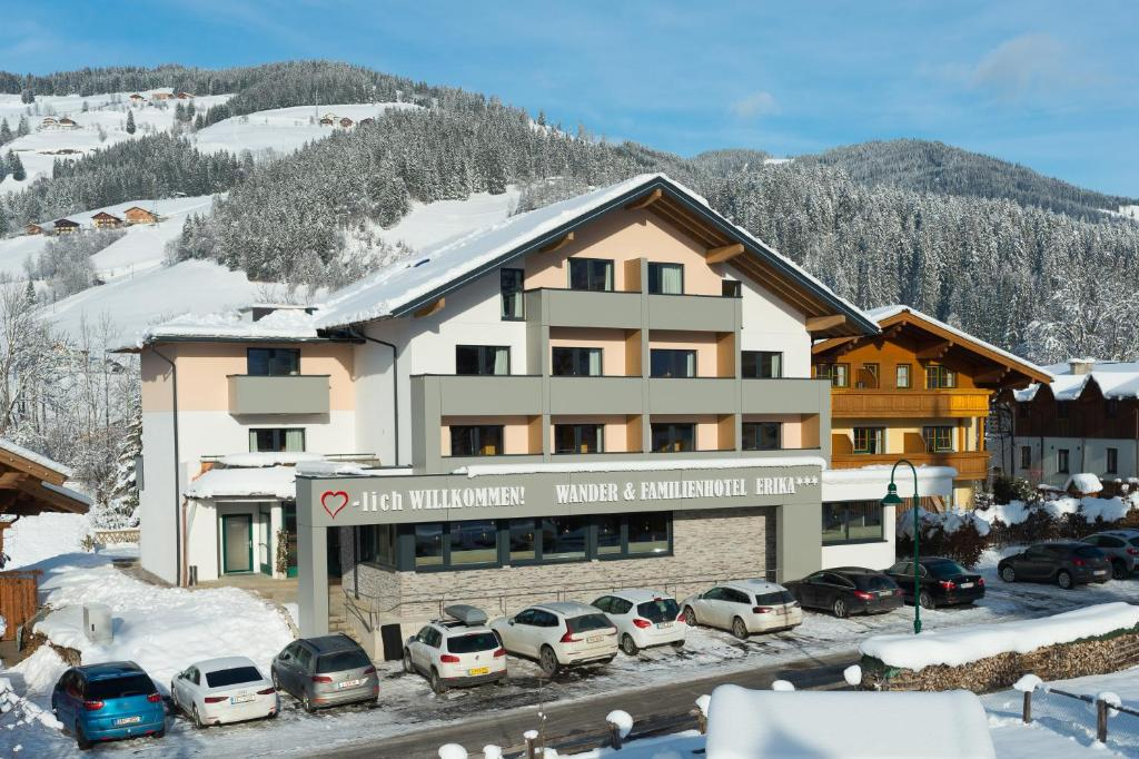 Wanderhotel Erika during the winter
