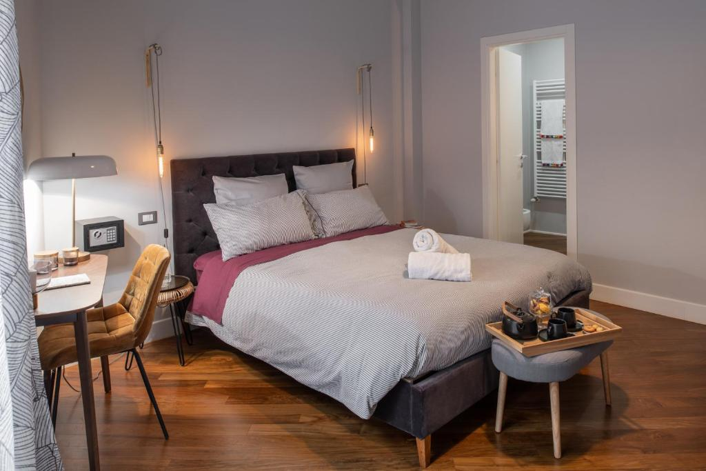 A bed or beds in a room at Good Morning Marsala