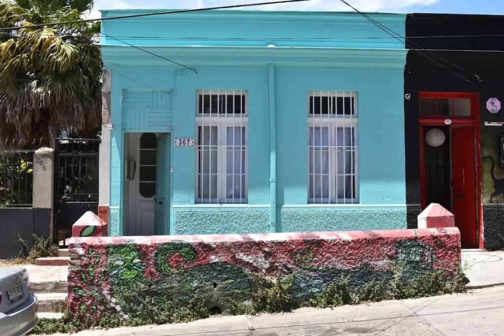 Edificio en el que se encuentra la habitación en casa particular