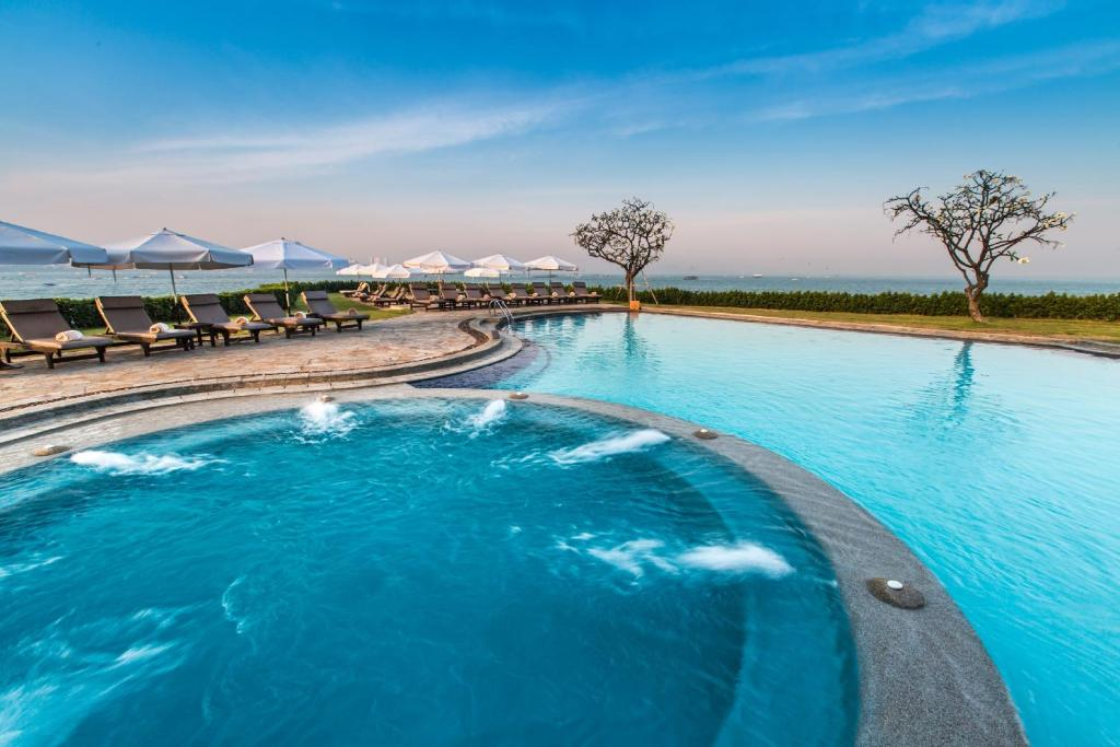 The swimming pool at or near Dusit Thani Pattaya