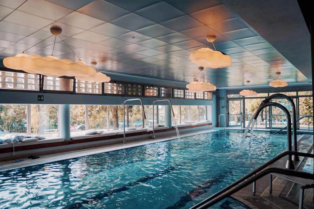 The swimming pool at or near Hotel Terme Salvarola