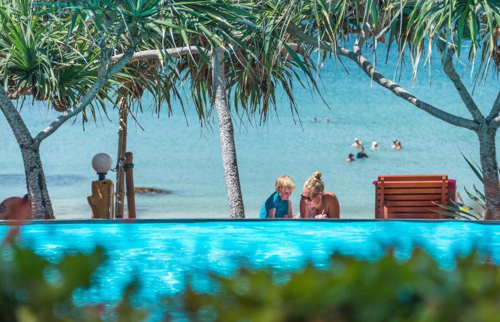 The swimming pool at or close to Lanta Miami Resort