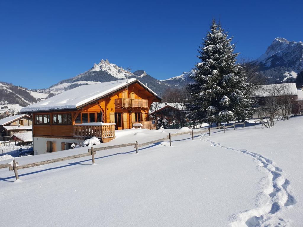 L'établissement Entre Lac Et Montagnes en hiver