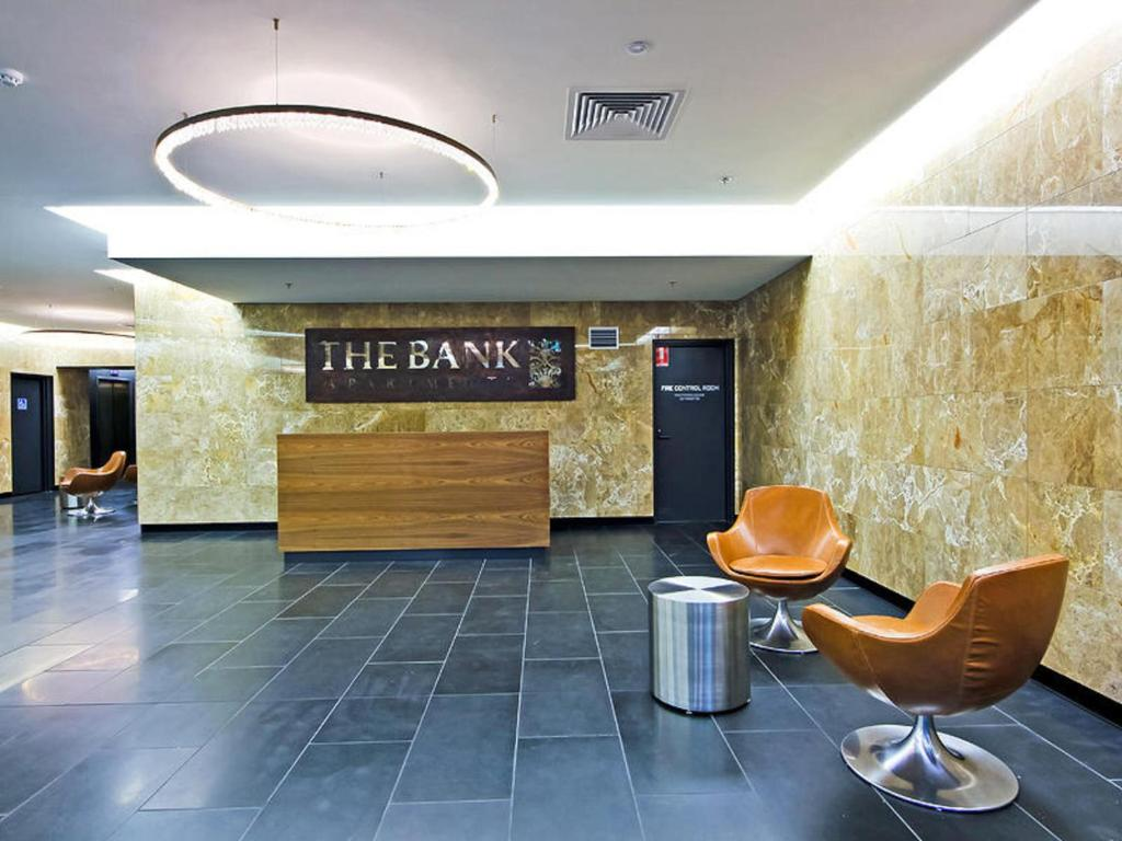 The lobby or reception area at Southbank Short Stay Apartment