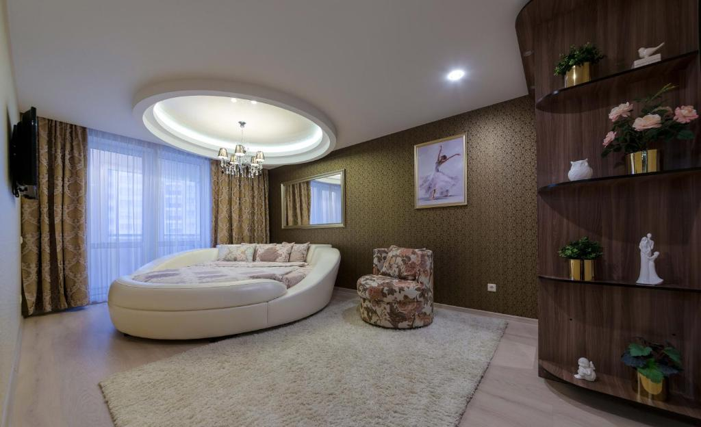 Гостиная зона в New Apartment