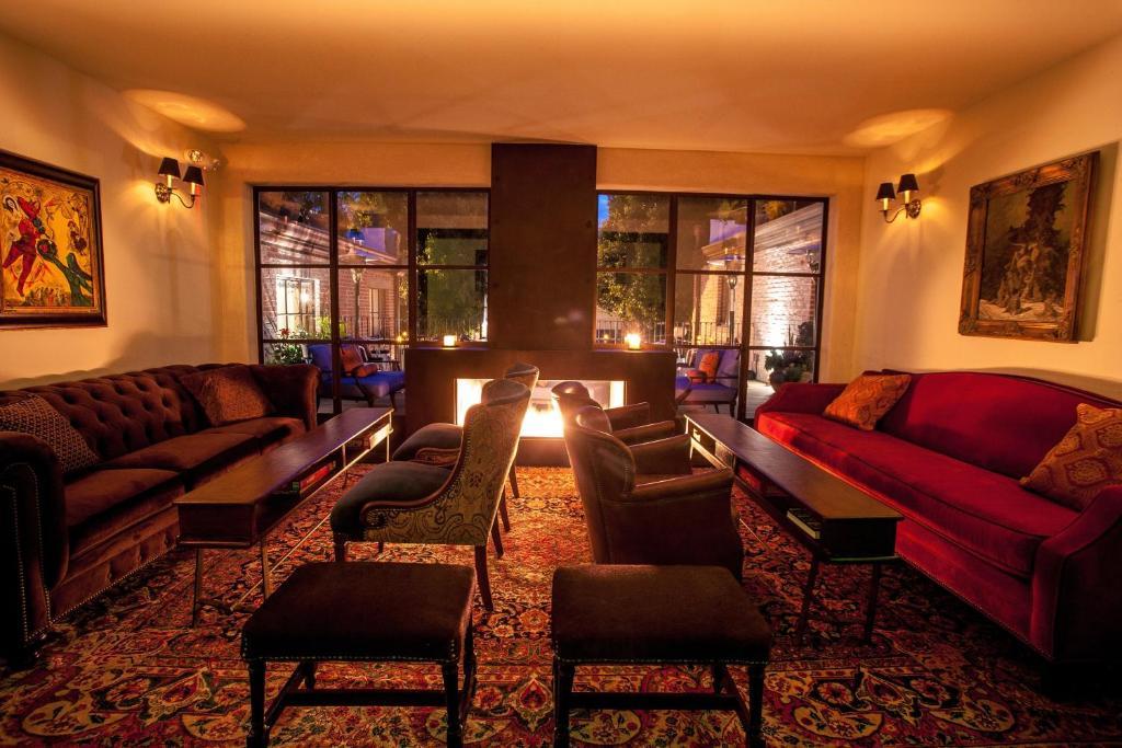 The lounge at the Granada Hotel & Bistro.