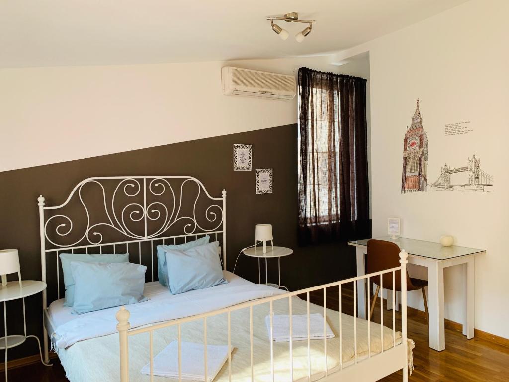Krevet ili kreveti u jedinici u okviru objekta Macvanska Guest House