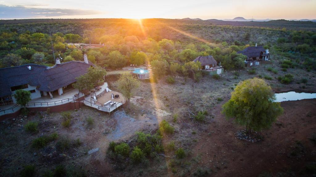 A bird's-eye view of Royal Madikwe Luxury Safari Lodge