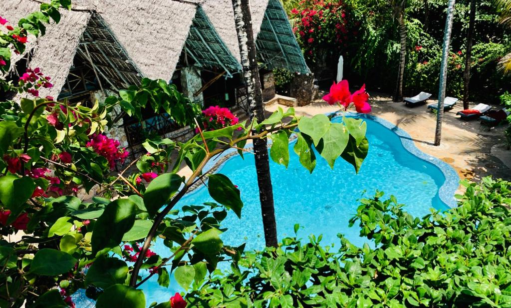 A view of the pool at Samaki Lodge & Spa or nearby