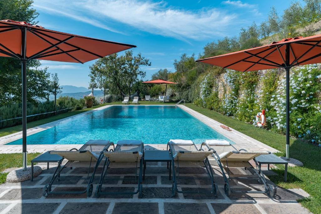 The swimming pool at or near Villa Lucchese