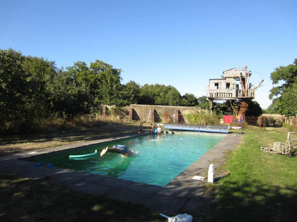 The swimming pool at or near The Annexe - Itchen Stoke Manor