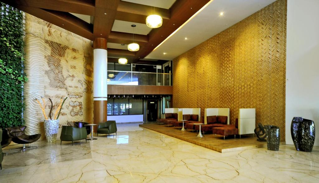 The lobby or reception area at Aarya Grand Hotels & Resorts