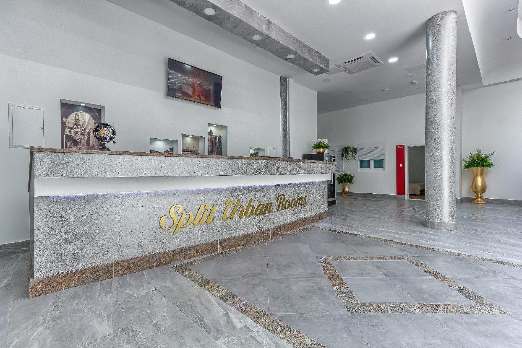 El vestíbulo o zona de recepción de Split Urban Rooms
