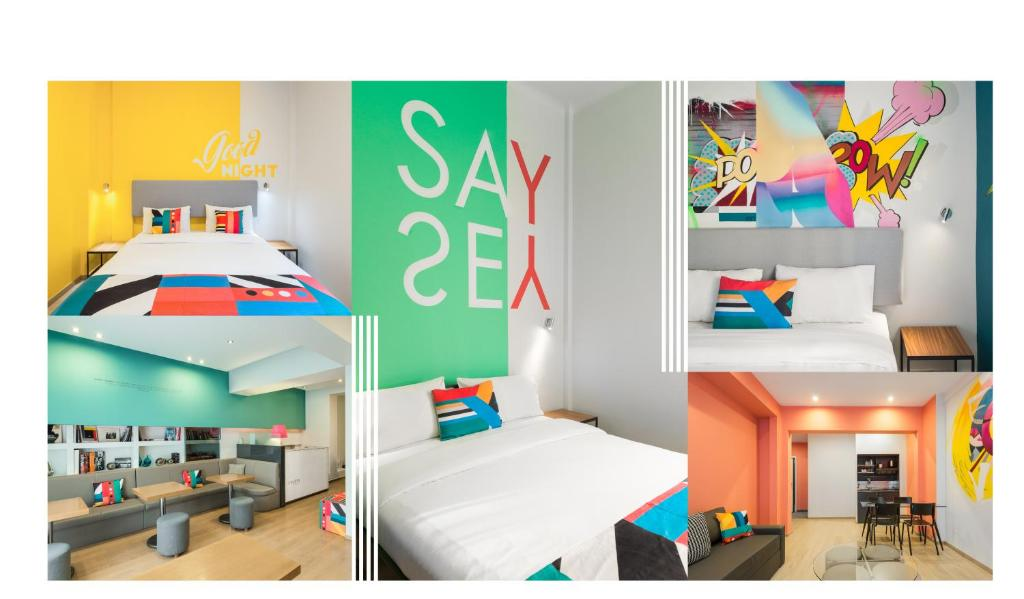 Apartment Colors Thessaloniki Living, Greece - Booking com