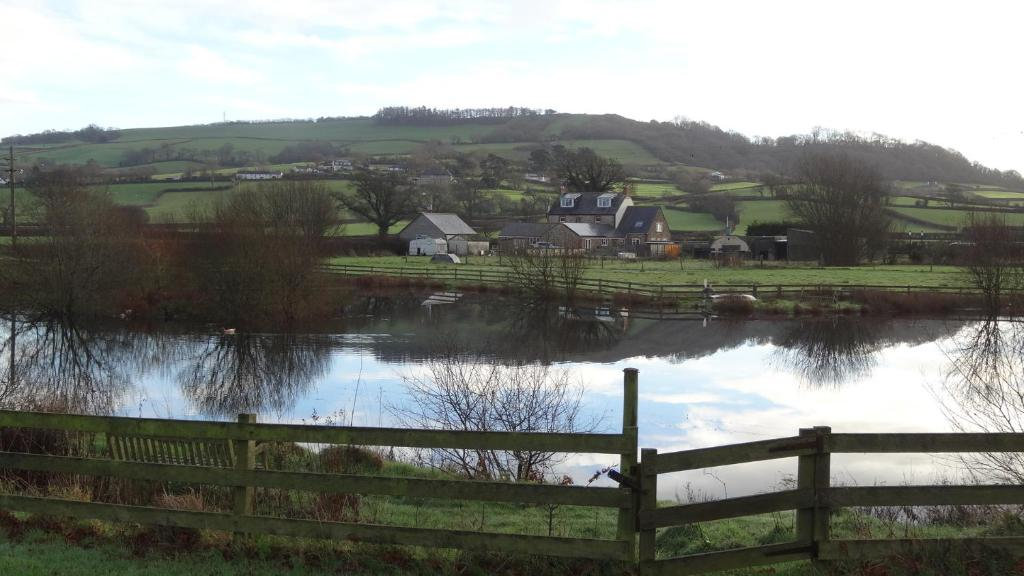 Spillers Farm during the winter