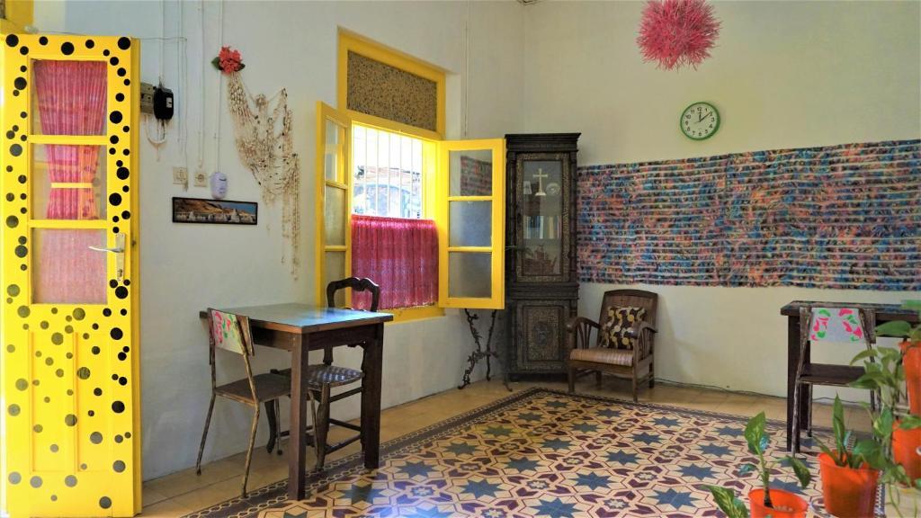 TV a/nebo společenská místnost v ubytování Benetta House