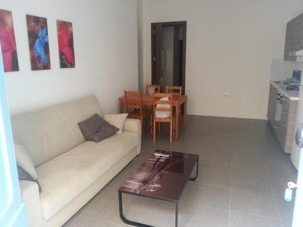A seating area at Beautifull Appartment In Sliema Malta