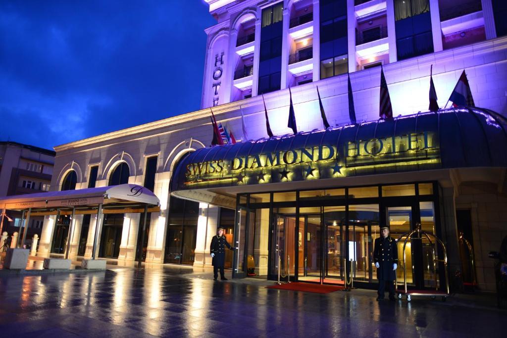 Bildergebnis für Schweizer Diamant Hotel Prishtina