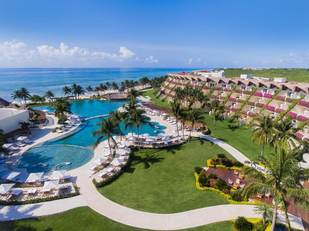 A bird's-eye view of Grand Velas Riviera Maya - All Inclusive