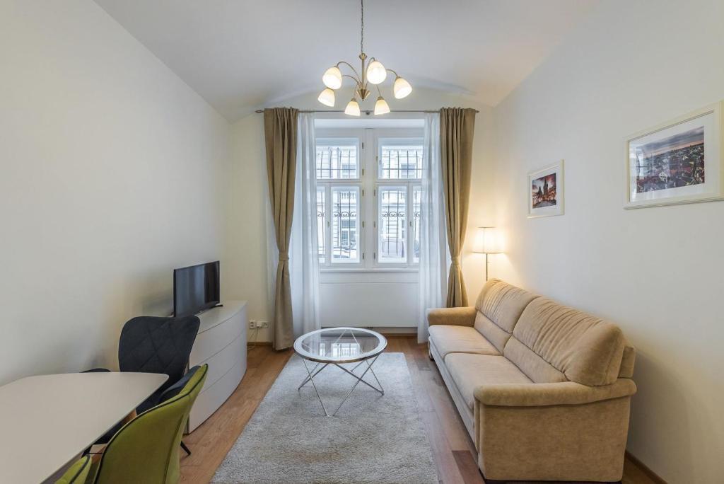 A Seating Area At Terra Bohemia Apartment