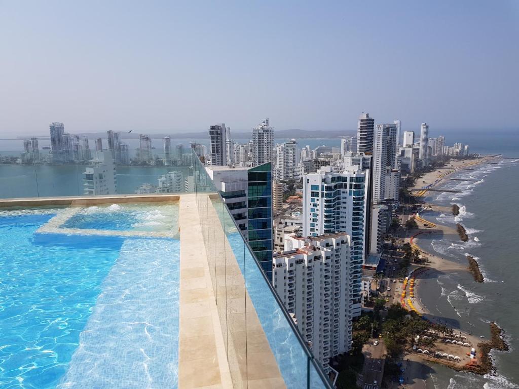 Murano Elite. Bocagrande. Dos Habitaciones, Cartagena De