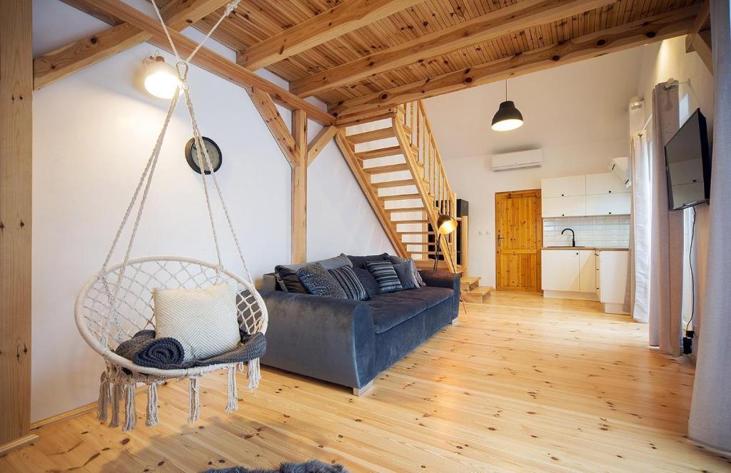A seating area at Apart-Invest Apartament Alter Ego