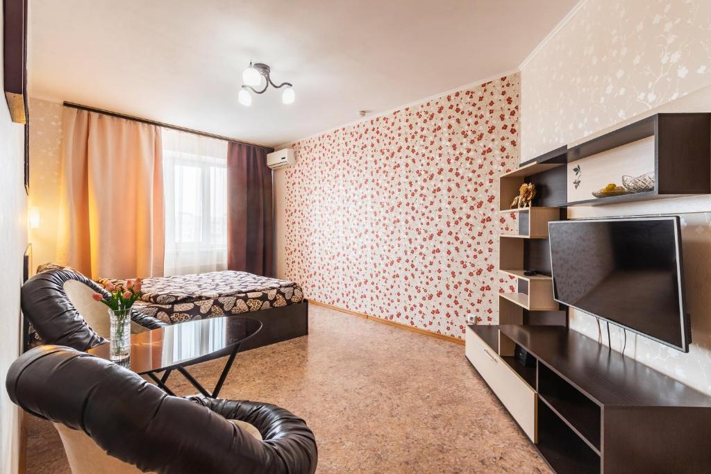 Гостиная зона в Апартаменты на Революционной 13 А