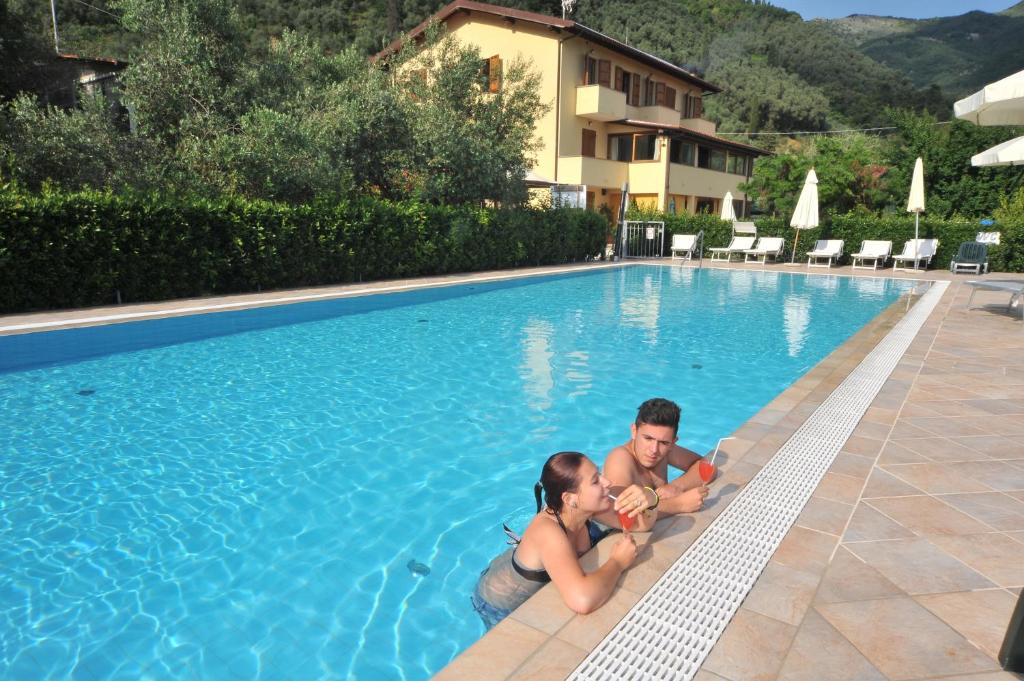 The swimming pool at or near Locanda Podere Il Riposo