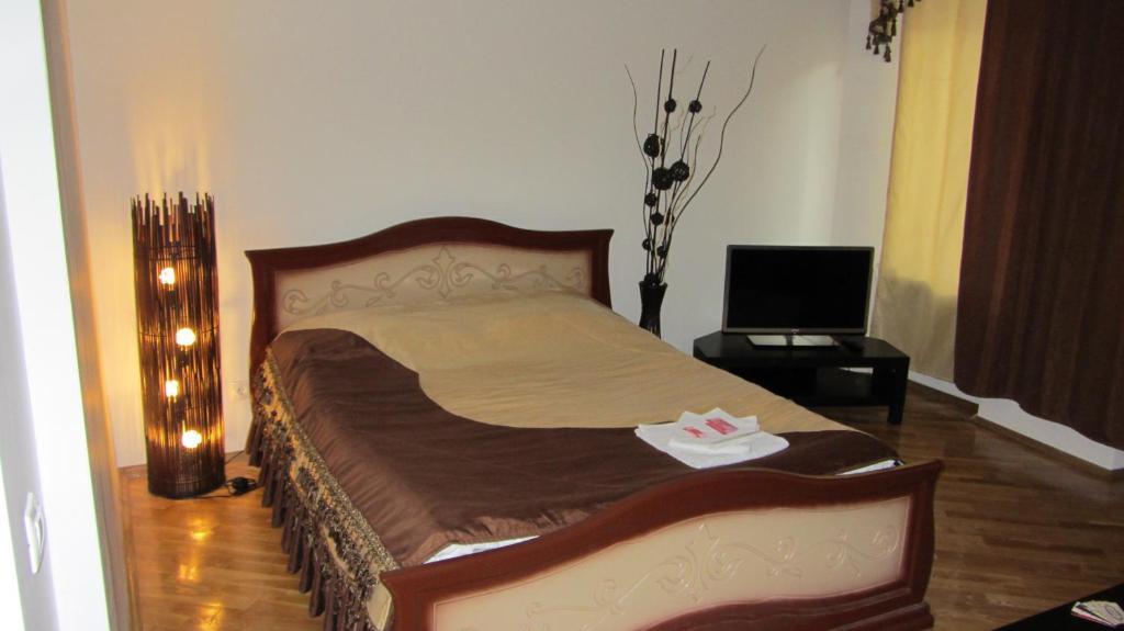 Кровать или кровати в номере Lighthouse