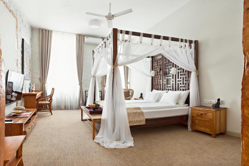 Krevet ili kreveti u jedinici u okviru objekta SuperB Luxury Suites