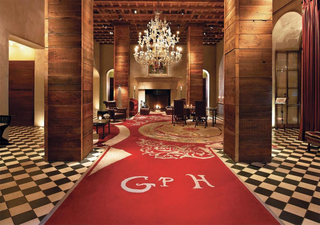 The lobby or reception area at Gramercy Park Hotel