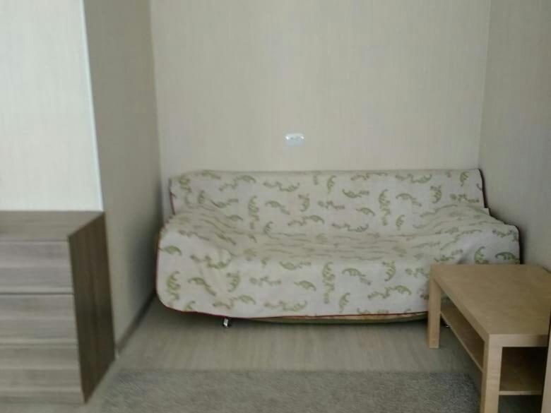 A seating area at Apartment on Nazarbaeva street