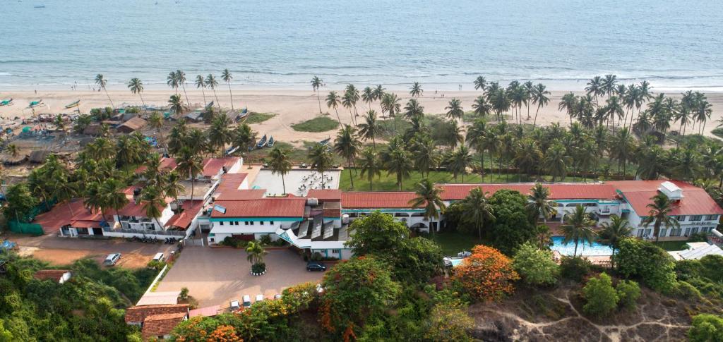 Blick auf Longuinhos Beach Resort aus der Vogelperspektive