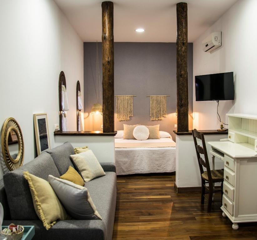 Zona de estar de Hotel Mariantonia