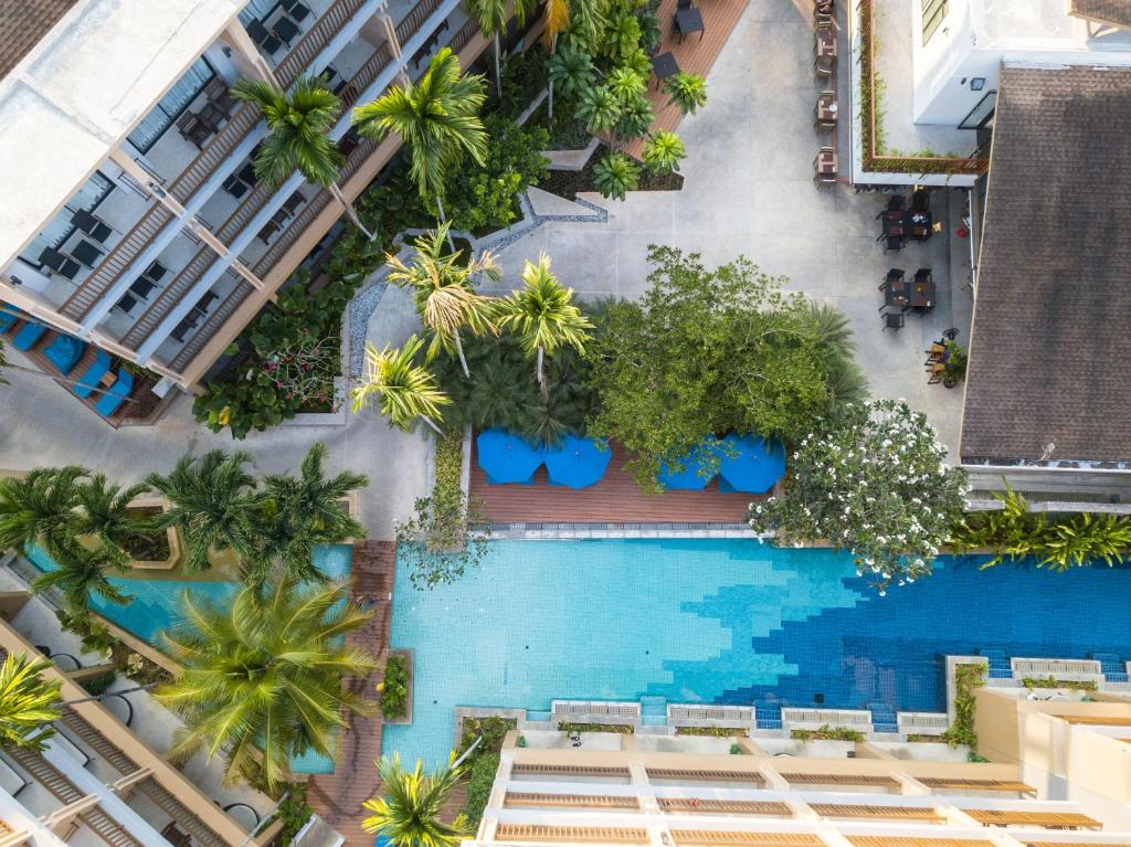 A view of the pool at Deevana Plaza Krabi or nearby