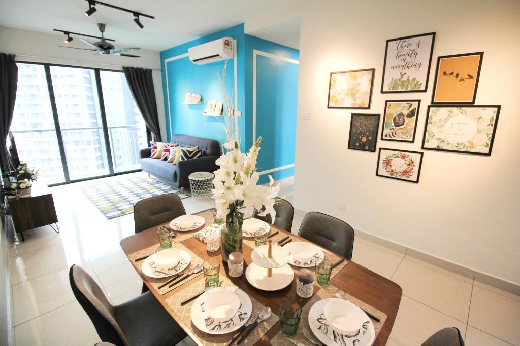 Apartment Kl Traders Square Urban Cozy Home Kuala Lumpur Malaysia
