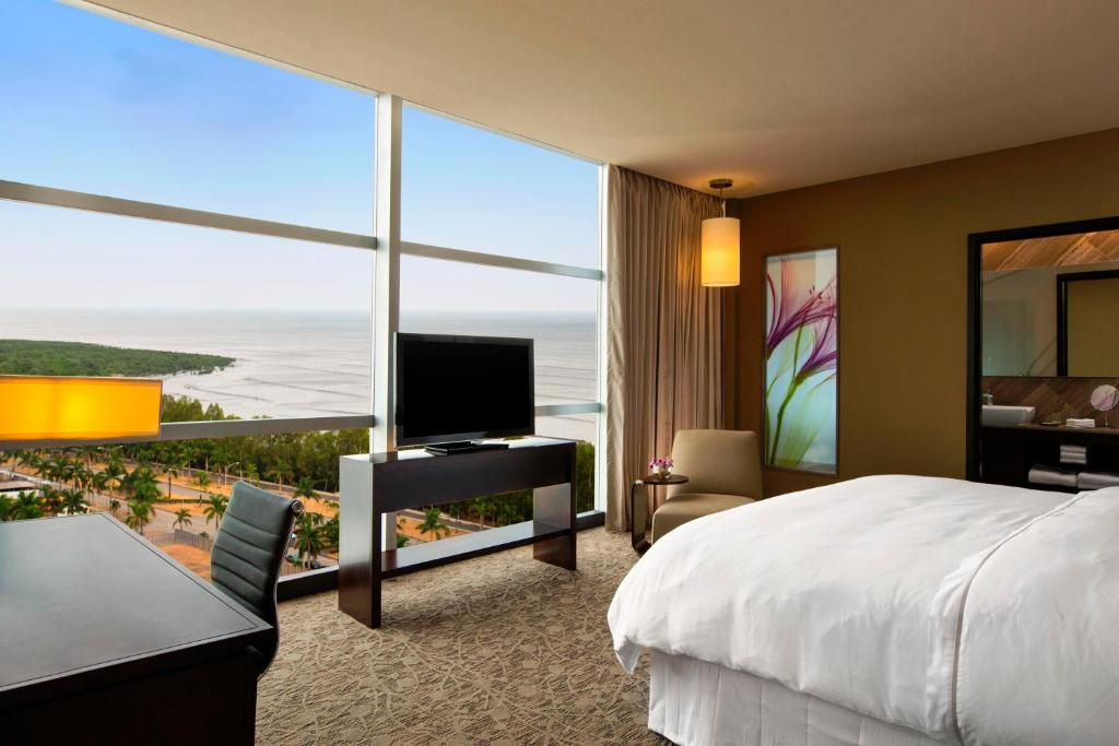 A television and/or entertainment center at The Westin Panama