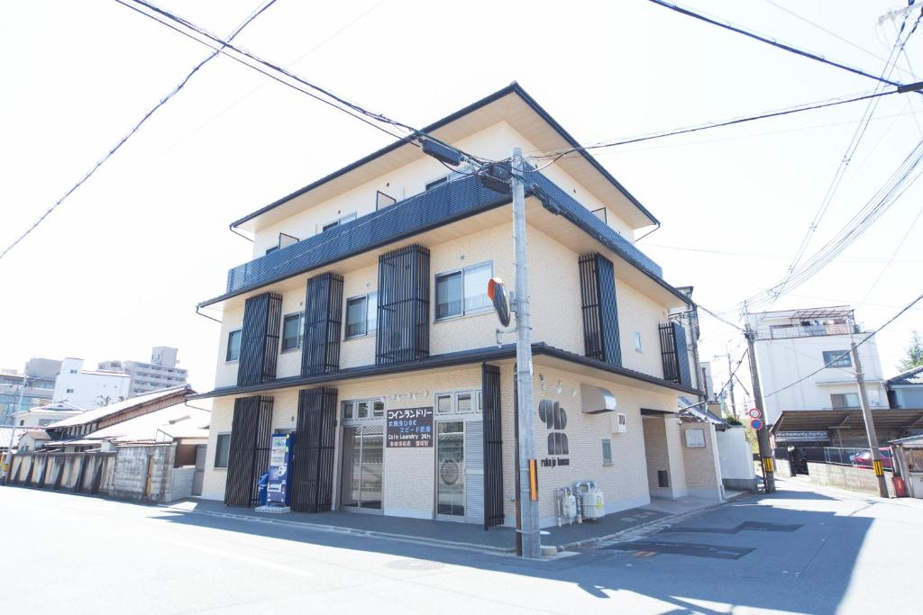 Rokujo House during the winter