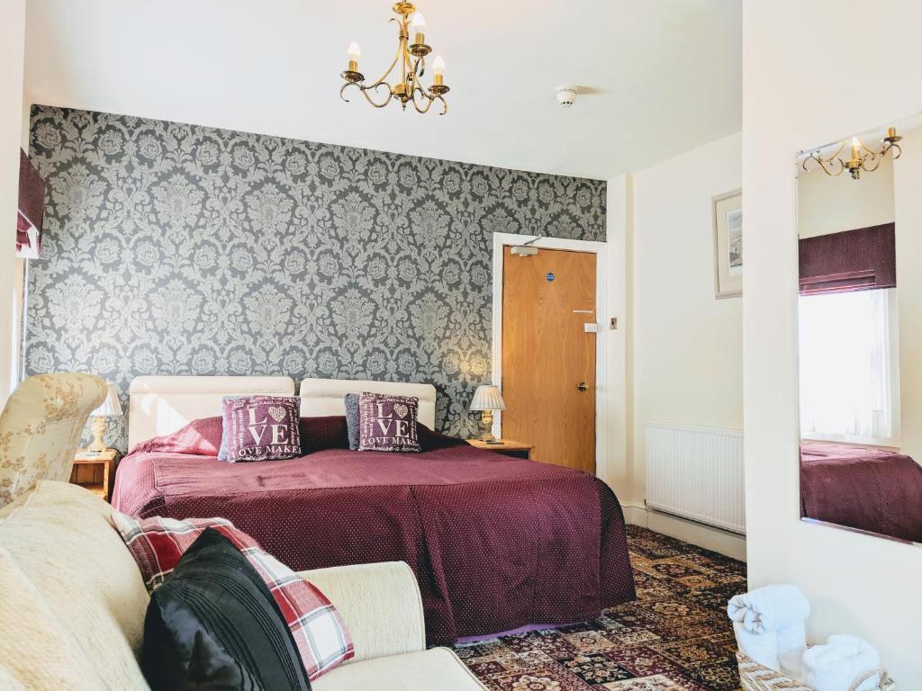 Uma cama ou camas num quarto em Chester Brooklands Bed & Breakfast