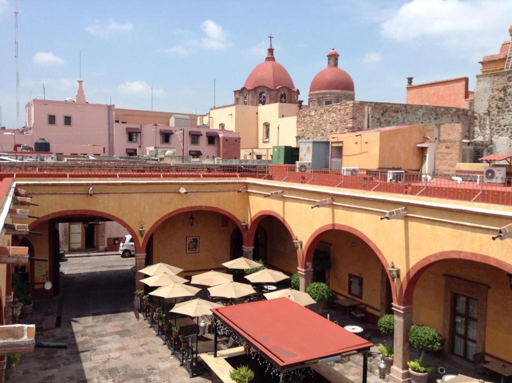 Hotel Quinta Santiago Queretaro Mexico Booking Com