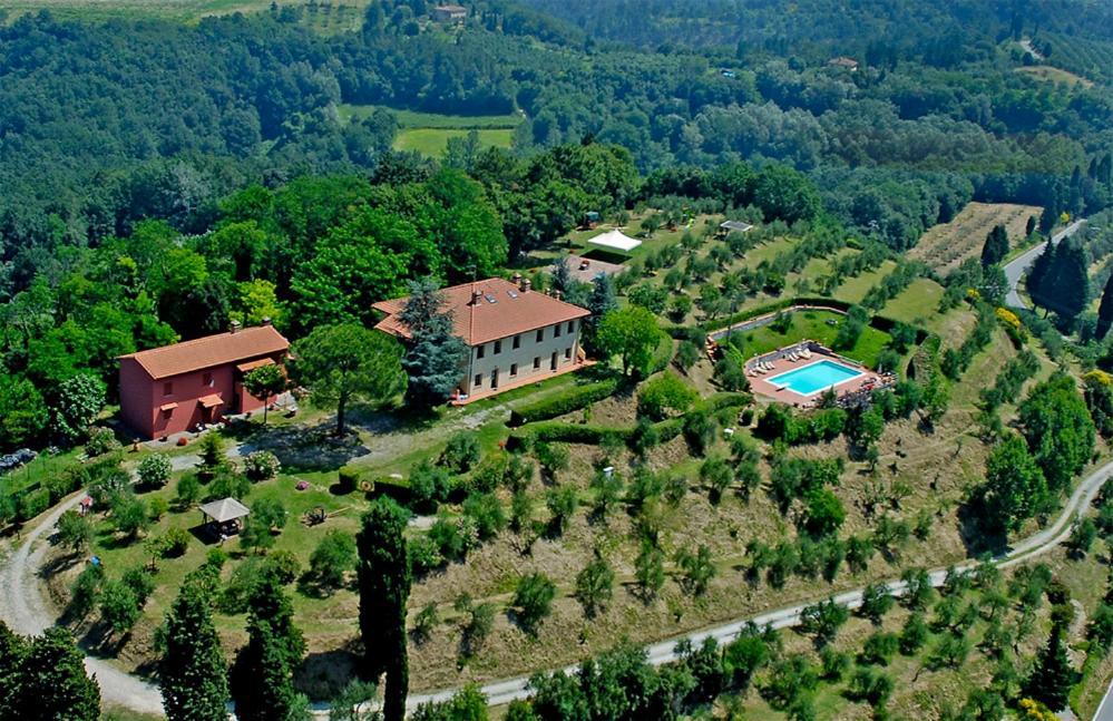 Vista aerea di Agriturismo Montemari