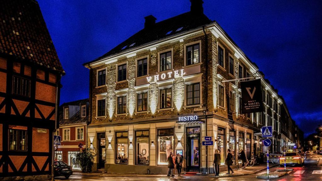 V Hotel Helsingborg; BW Premier Collection under vintern