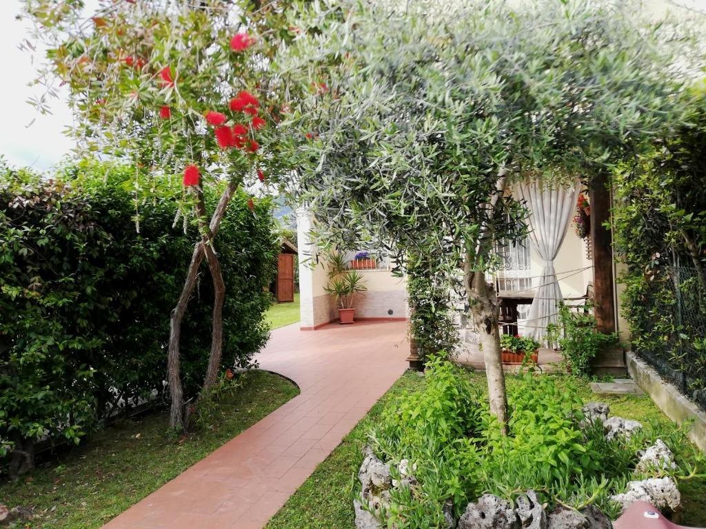 A garden outside Villetta Marina Verde